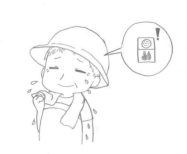熱中症予防帽子