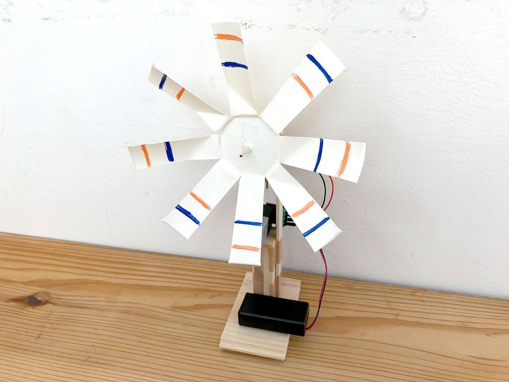 超簡単。GPIOで紙コップ風車を回して遊ぼう