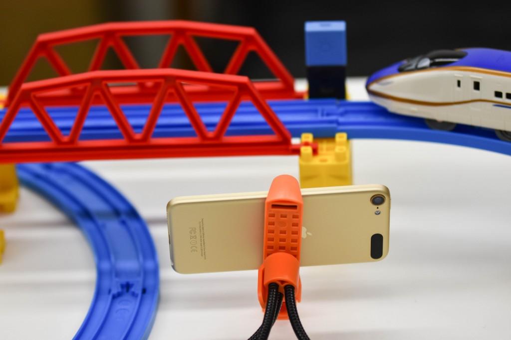 プラレールでリアルな鉄橋通過音を鳴らす!